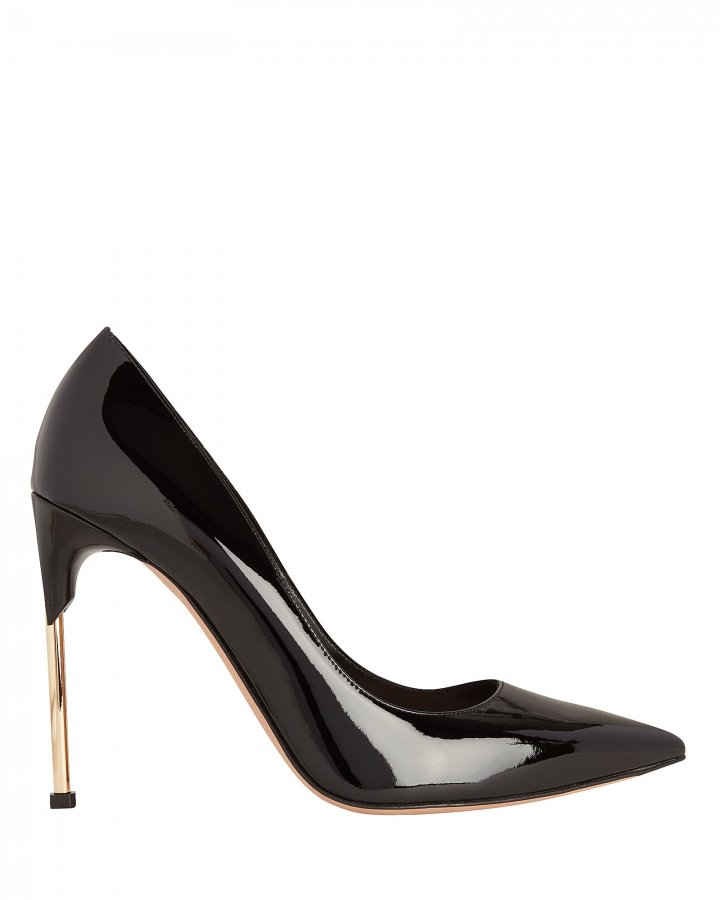 Metal Heel Pumps