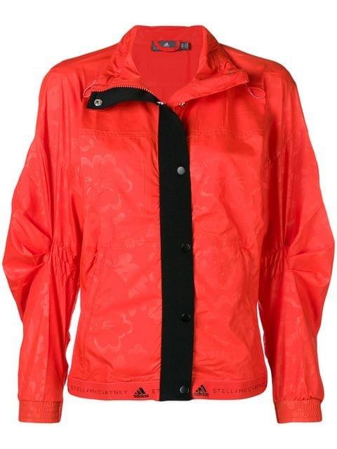Adidas By Stella Mccartney Snap Fastening Lightweight Jacket - Farfetch