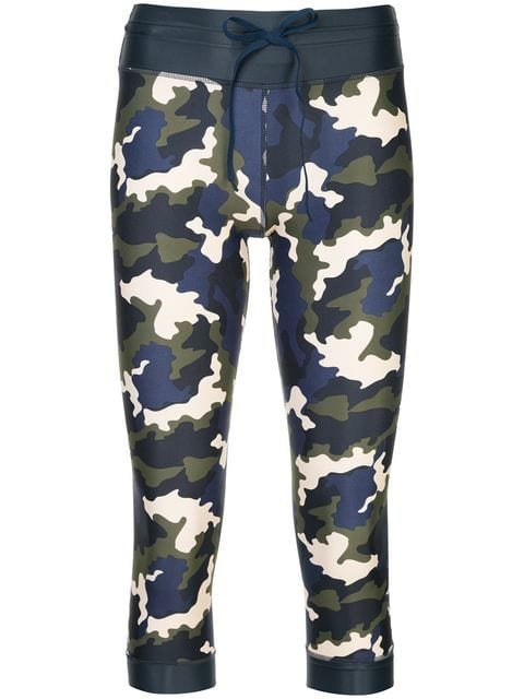The Upside Camouflage Print Cropped Leggings - Farfetch