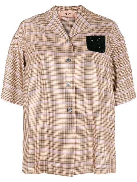 Nº21 Short Sleeved Blouse - Farfetch