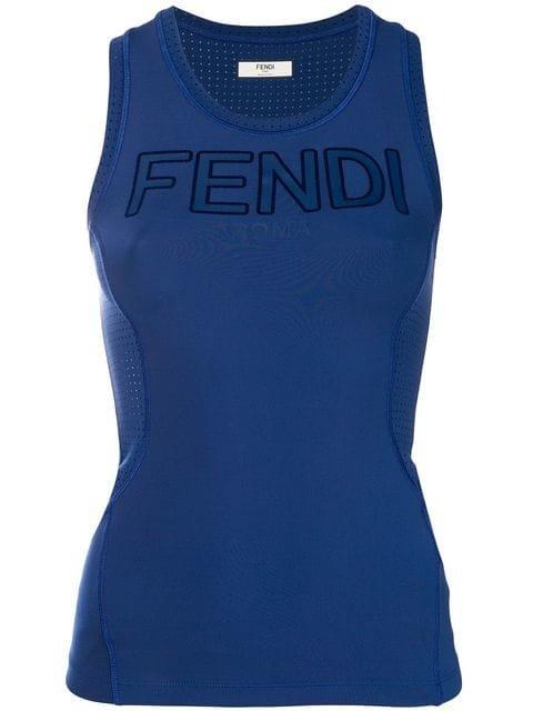 Fendi Logo Tank Top - Farfetch