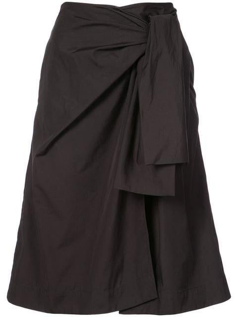 Dvf Diane Von Furstenberg Wrap Front Skirt - Farfetch
