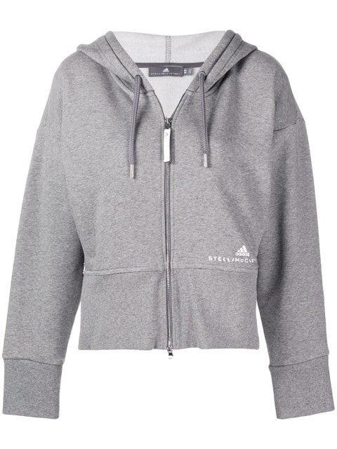 Adidas By Stella Mccartney Full-zipped Hoodie - Farfetch