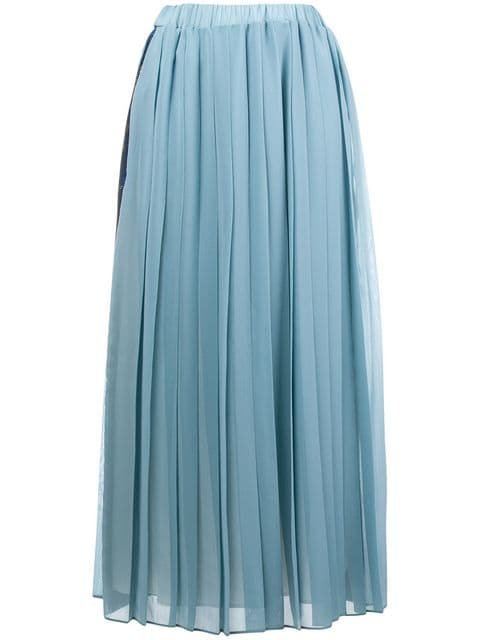 Ultràchic Pleated Skirt - Farfetch