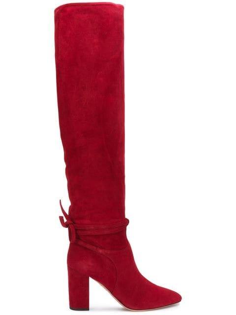 Aquazzura Milano Knee-high Boots - Farfetch