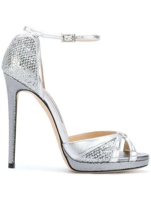 Jimmy Choo Talia 120 Sandals - Farfetch