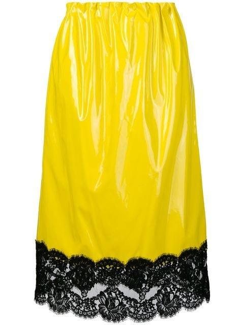 Nº21 Lace High-waist Skirt - Farfetch