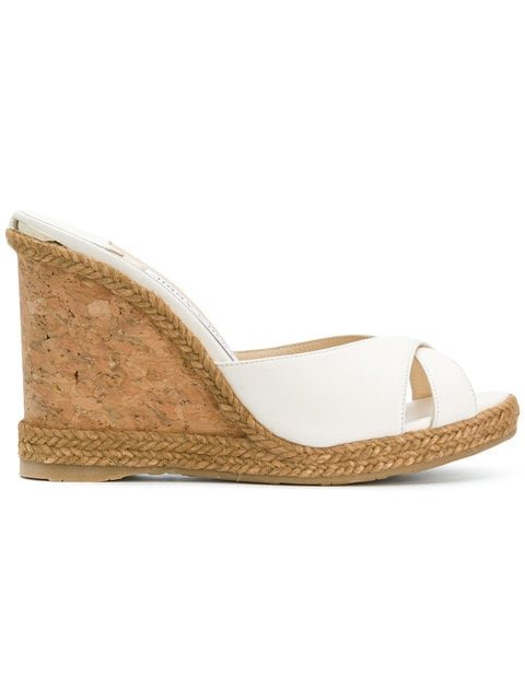 Jimmy Choo Almer 105 Wedges - Farfetch