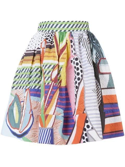 Mary Katrantzou High-waisted Printed Skirt - Farfetch