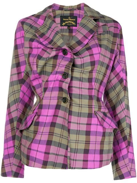 Vivienne Westwood Anglomania  Alcoholic Fitted Jacket - Farfetch