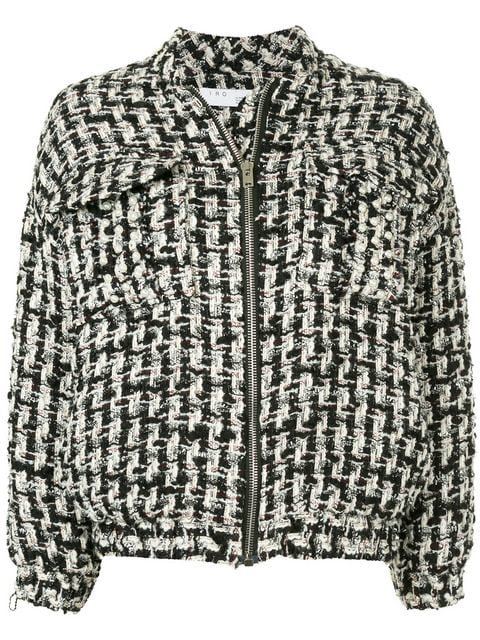 Iro Switch Oversized Tweed Jacket - Farfetch