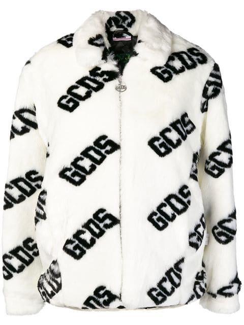 Gcds Puffer Logo Jacket - Farfetch