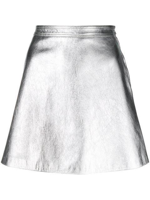 Moschino A-line Mini Skirt - Farfetch