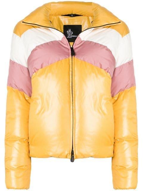 Moncler Grenoble Tricolour Puffer Jacket - Farfetch