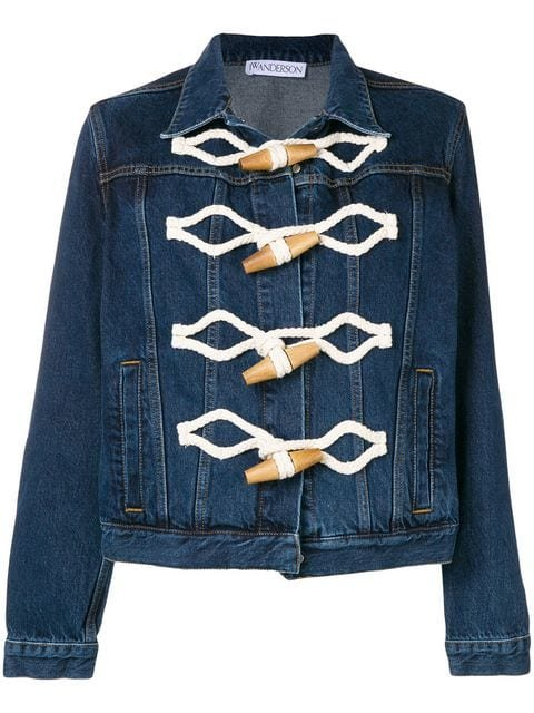 JW Anderson Toggle Denim Jacket - Farfetch