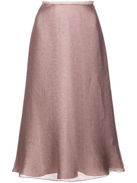 Sally Lapointe A-line Midi Skirt - Farfetch