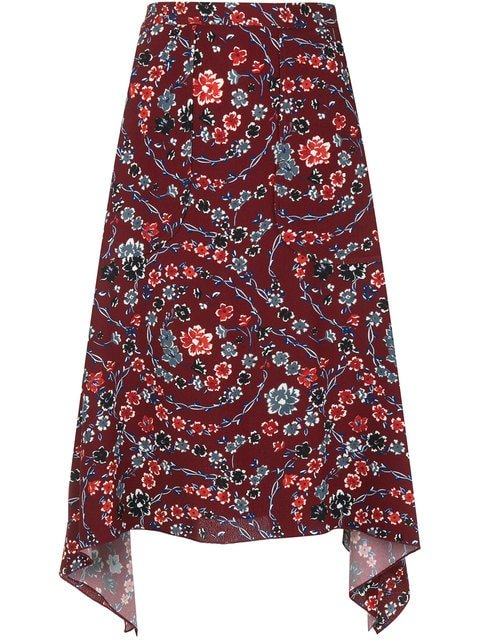 See By Chloé Floral Skirt - Farfetch