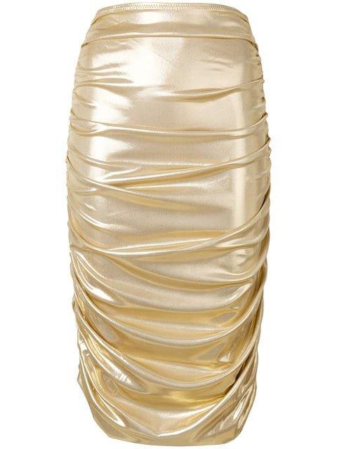 Norma Kamali Mid-length Skirt - Farfetch