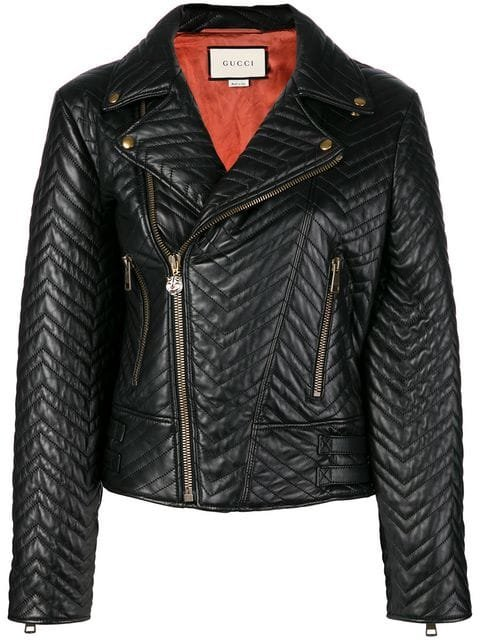 Gucci Biker Jacket - Farfetch