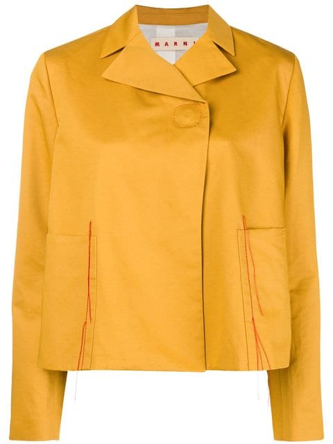Marni Relaxed Fit Jacket  - Farfetch