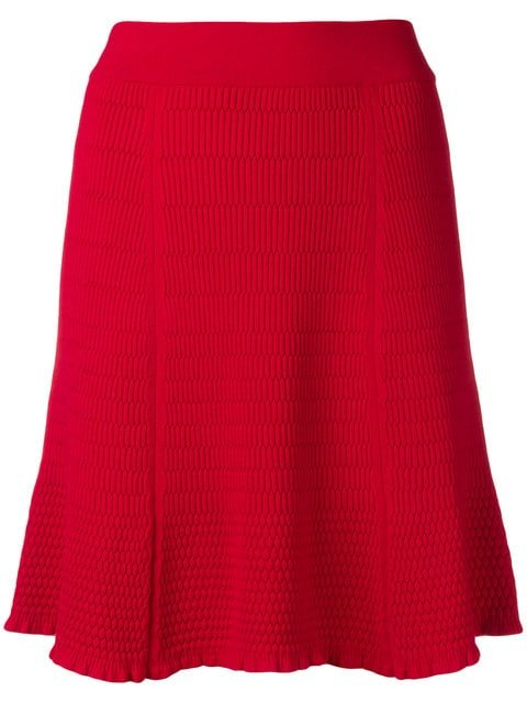 Kenzo Short Ribbed Skirt - Farfetch