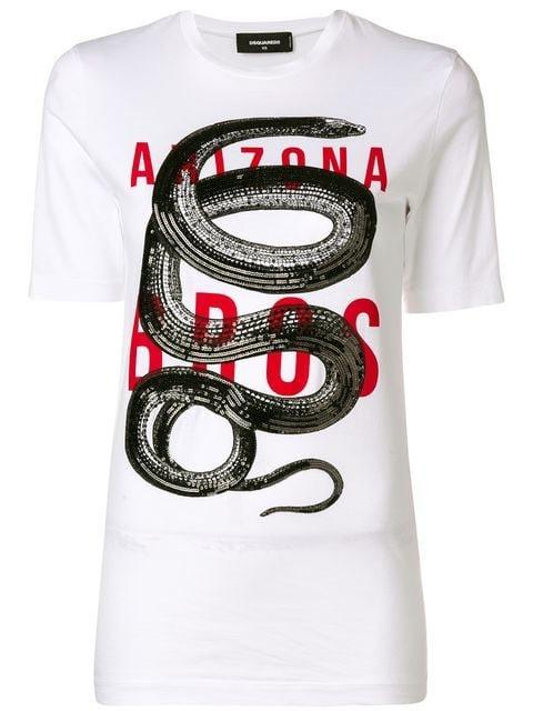 Dsquared2 Arizona Print T-shirt - Farfetch