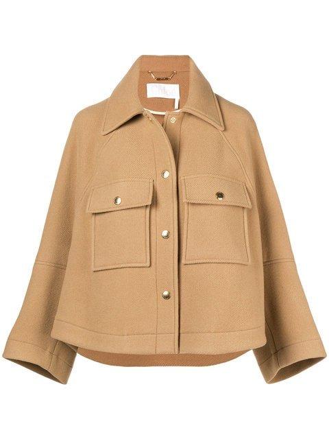 Chloé Boxy Jacket - Farfetch