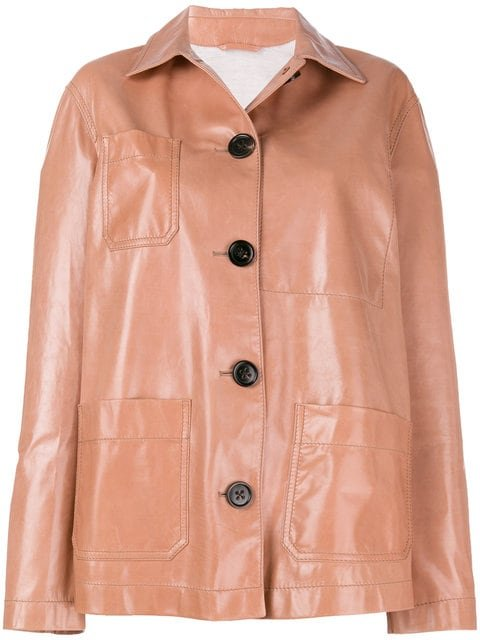 Bottega Veneta Button-down Oversized Jacket - Farfetch