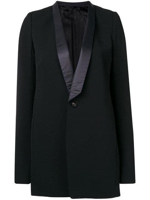 Rick Owens Classic Single-breasted Blazer - Farfetch