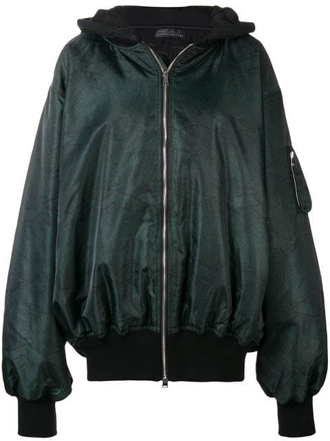 Barbara Bologna Loose Elongated Bomber Jacket  - Farfetch
