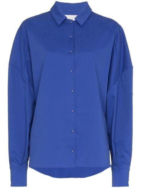 Esteban Cortazar Oversized Boxy Fit Shirt - Farfetch
