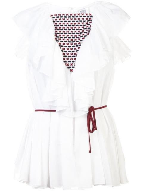 Rosie Assoulin Ruffled Collar Blouse - Farfetch
