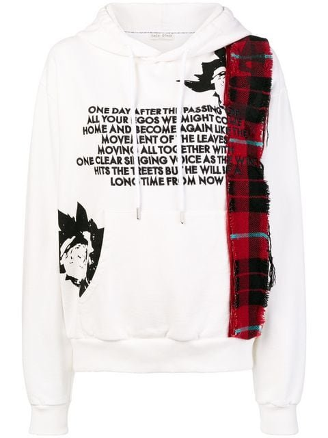 Each X Other Front Printed Hoodie  - Farfetch