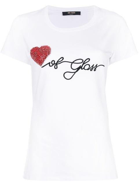 Twin-Set Heart Of Glass T-shirt - Farfetch
