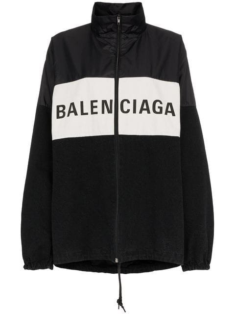 Balenciaga Front Logo Sports Jacket - Farfetch