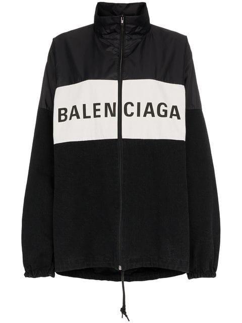 Balenciaga Front Logo Sports Jacket - Farfetch