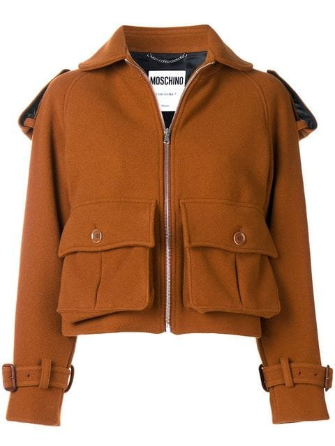 Moschino Fitted Jacket - Farfetch
