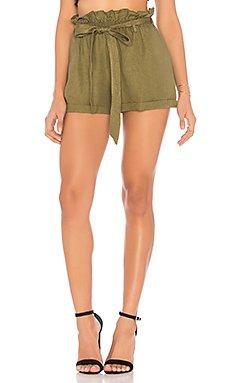 Paperbag Waist Shorts                                             Chaser