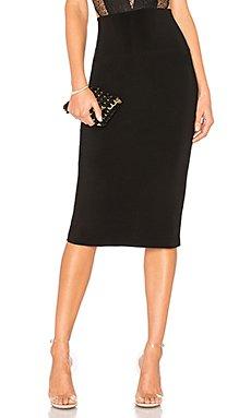 Straight Skirt                                             Norma Kamali