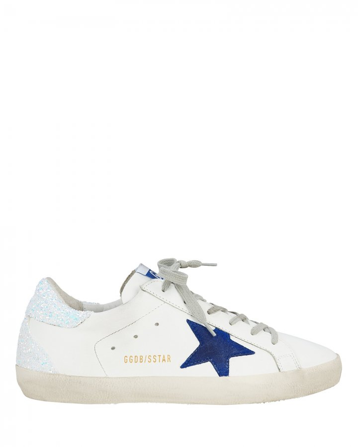 Superstar  Glitter Back Low-Top Sneakers