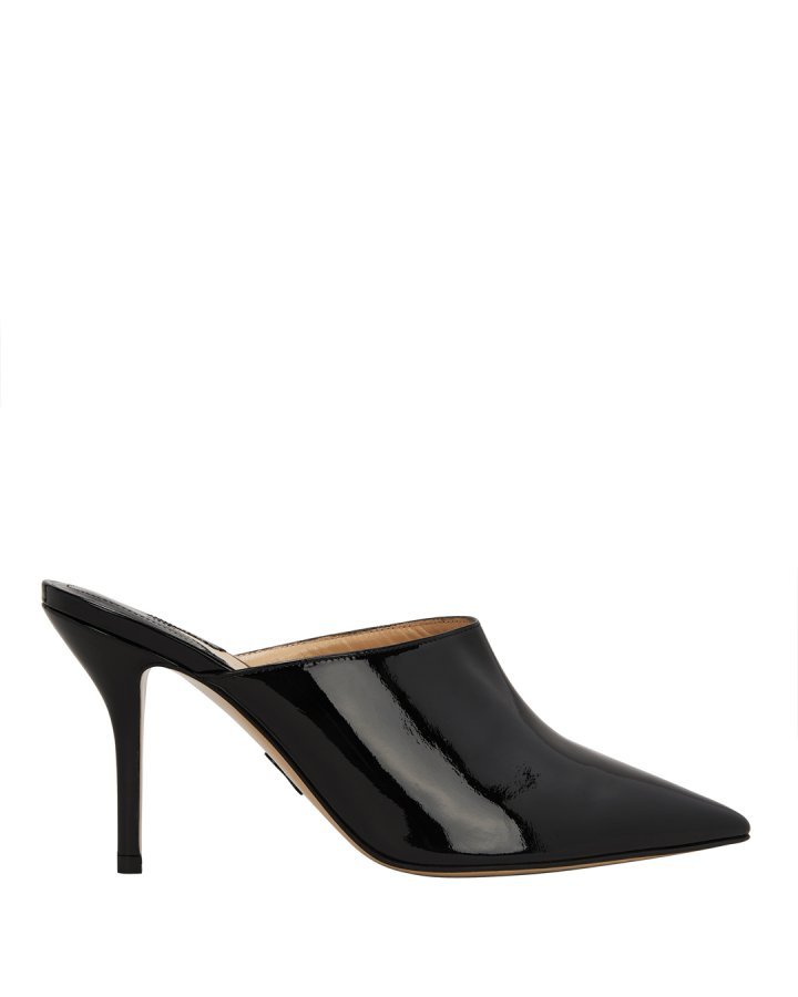 Certosa Patent Leather Mules
