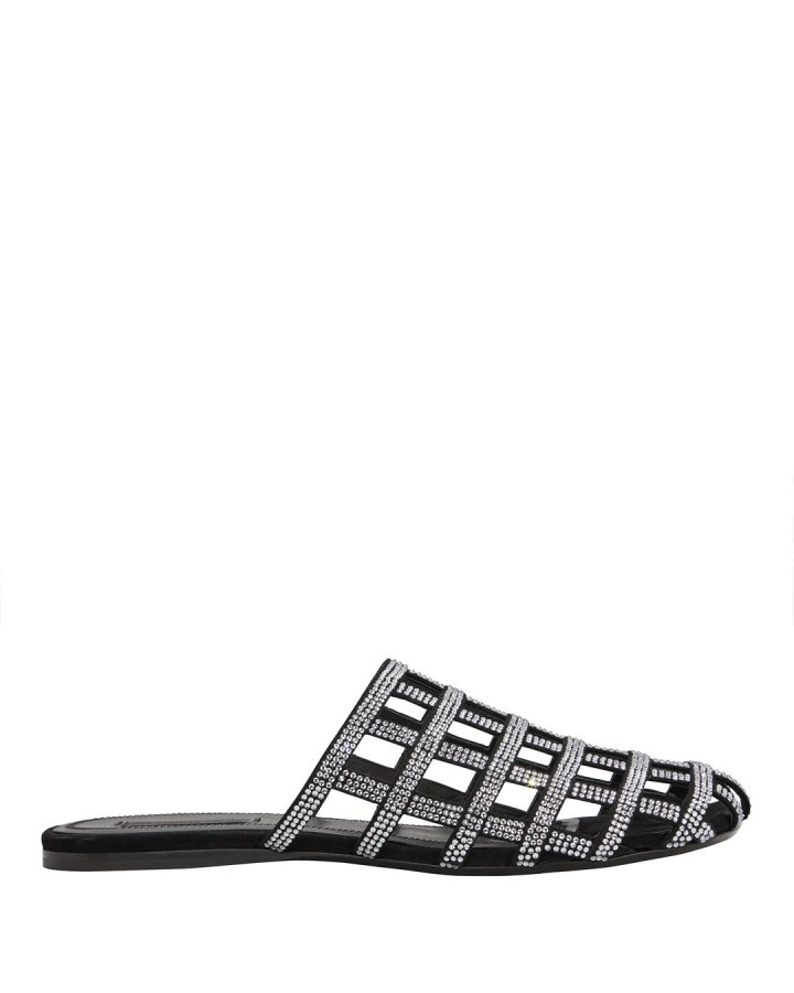 Alison Diamante Cage Sandals