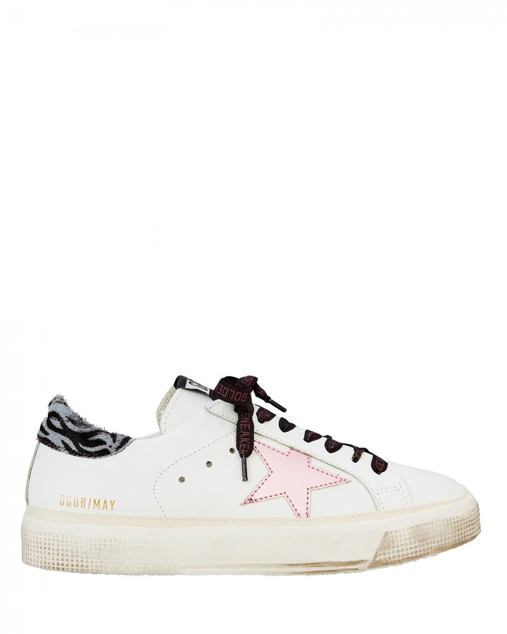 May Pink Star Low-Top Sneakers