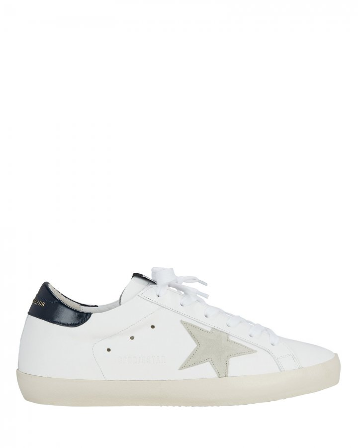Superstar Grey Star Low-Top Sneakers