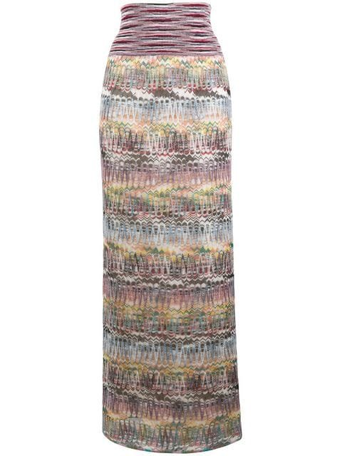 Missoni Striped Straight Long Skirt  - Farfetch