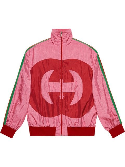 Gucci Interlocking G Technical Jersey Jacket - Farfetch