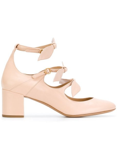 Chloé Mike Leaf Strap Pumps - Farfetch
