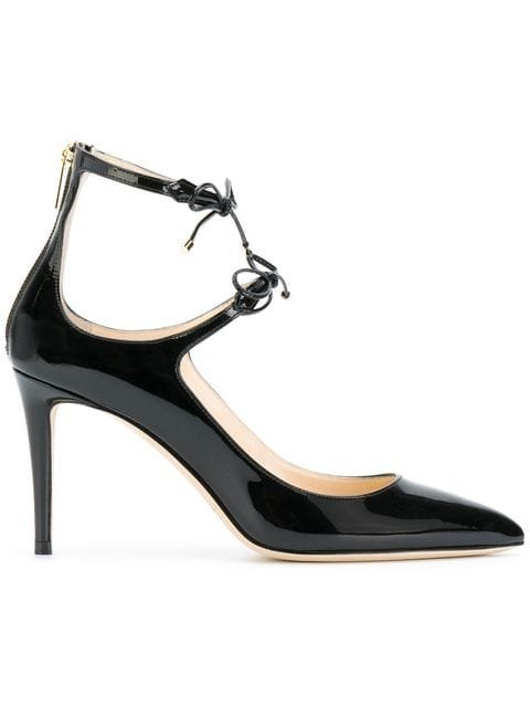Jimmy Choo Sage 100 Pumps - Farfetch