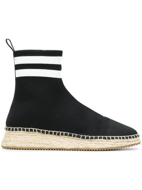 Alexander Wang High Ankle Sock Espadrilles - Farfetch