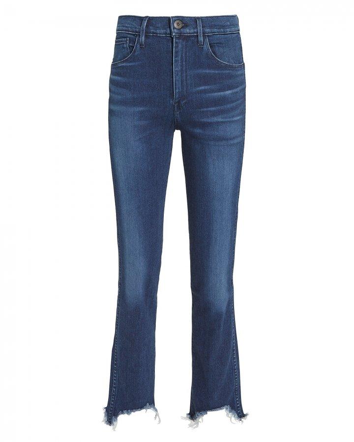 W3 Straight Authentic Crop  Eleta Jeans